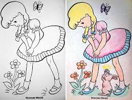 Books Funny Evil Children Lovely Childrens Coloring