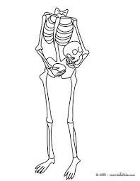 Damaged Skeletons Bones Skeleton Carrying His Head Under Arm 01