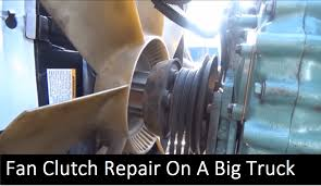 100 Big Truck Repair For A FreightLiners Fan Clutch That Will Save You Money
