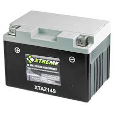 cylaz14sxta xtreme agm battery for yuasa ytz14s replacement at