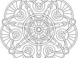 Coloring Pages Free Printable For Adults Geometric