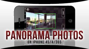 How to Take PANORAMA s on iPhone 4S 4 3GS without iOS 6