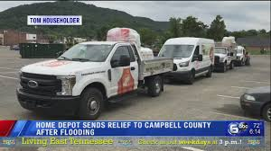 100 Truck Rentals Home Depot Sends Relief To Campbell County After Flooding