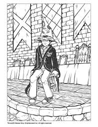 Harry Potter Coloring Page Color Online Print