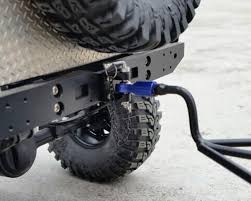 Yeah Racing 1/10 Crawler Scale Adjustable Drop Hitch (for Trailer ...