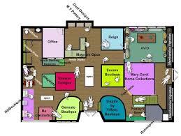 Clothing Boutique Floor Plan 788x593 Pixels Fashion Store