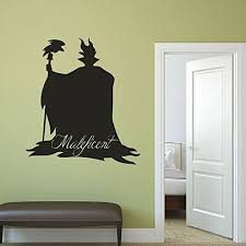 Disney Villains Maleficent Vinyl Wall Decor Halloween Decorations Decals For Kids Room