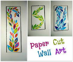 Picture Of DIY Paper Cut Wall Art