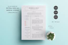 Creative Resume Template To Inspire You How Create Good Impressive Templates Vector Free Download Word File