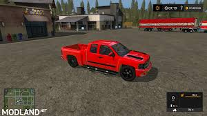100 2010 Chevy Truck Silverado LT Stock Mod Farming Simulator 17