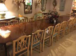 Georgian Dining Room by Monumental English Georgian Style Dining Table 16 Feet Long For