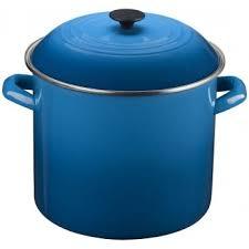 le creuset pots prices large soup pot 20 qt in marseille blue from le creuset cookware