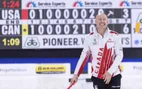 100 Peter De Cruz Canadas Koe Beats Switzerlands At World Mens Curling