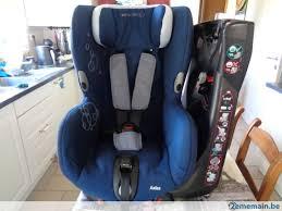 siège bébé siège auto axiss bébé confort pivotant bleu housse éponge a