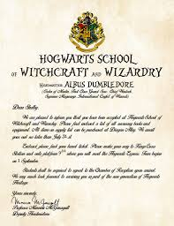 Hogwarts Acceptance Letter Template Generator Archives Complete