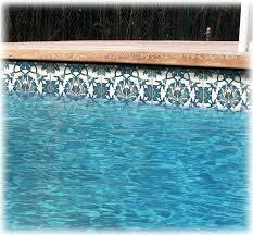 swimming pool liners waterline pool tiles balian studio