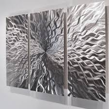 Image Is Loading Modern Abstract Metal Wall Sculpture Art Contemporary Painting