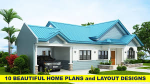 100 Images Of Beautiful Home Free Plans And Layout Design For 10 Houses