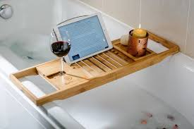 Bamboo Bathtub Caddy With Reading Rack by 5 Bamboo Bathtub Caddies That You Can Buy Right Now