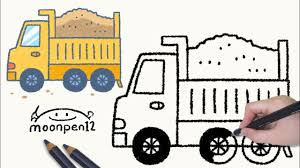 How To Draw A Dump Truck - Step By Step - YouTube How To Draw Dump Truck Coloring Pages Kids Learn Colors For With To A Art For Hub Trucks Boys Make A Cake Hand Illustration Royalty Free Cliparts Vectors Printable Haulware Operations Drawing Download Clip And Color Page Online