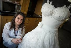 Epic Edible Wedding Dress Is Made Entirely Cake