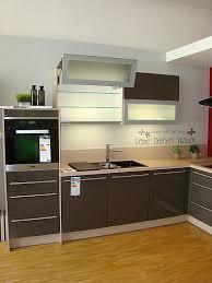 artego musterküche moderne l küche mit lackfront