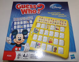 Disney Edition Guess Who Game