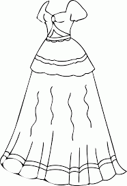 Fresh Dresses Coloring Pages 8