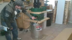 Harbor Freight Sandblaster Cabinet Mods by Modified Harbor Freight Dust Collector Jays Custom Creations