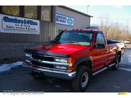 2000 Chevrolet Silverado 2500 LS Regular Cab 4x4 In Victory Red ... 2000 Chevrolet Silverado 2500 74l 4x4 2001 Z71 Personal 6 Rcx Lift Ntd 20 Ls Pickup Truck Item I9386 Hd Video Chevrolet Silverado Sportside Regular Cab Red For Used Chevy S10 Trucks Truck Pictures 1990 Classics For Sale On Autotrader 1500 Extended Cab 4x4 In Indigo Blue Malechas Auto Body Regular Metallic 2015 Double Pricing For Rear Dually Fenders Lowest Prices Biscayne Sales Preowned