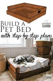 pet bed diy building plans u0026 tutorial pet beds building plans