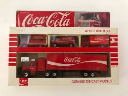VINTAGE HARTOY COCA Cola 4 Piece Diecast Metal Toy Delivery Truck ... 164 Diecast Toy Cars Tomica Isuzu Elf Cacola Truck Diecast Hunter Regular Cocacola Trucks Richard Opfer Auctioneering Inc Schmidt Collection Of Cacola Coca Cola Delivery Trucks Collection Xdersbrian Vintage Lego Ideas Product Shop A Metalcraft Toy Delivery Truck With Every Bottle Lledo Coke Soda Pop Beverage Packard Van Original Budgie Toys Crate Of Coca Cola Wanted 1947 Store 1998 Holiday Caravan Semi Mint In Box Limited