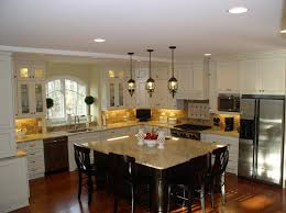 fantastic pendant lights above kitchen island with chrome free