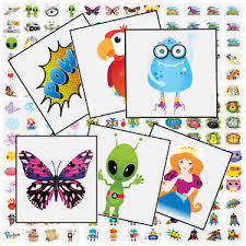 Image Is Loading Children 039 S Boys Girls Temporary Tattoos Kid