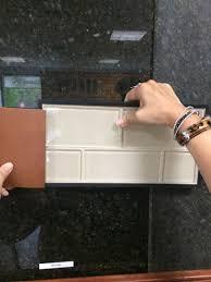 Glass Tiles For Backsplash by Uba Tuba Granite And Buff Field Subway Glass Tile For Backsplash