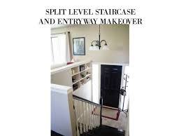 100 Bilevel Home Split Level Staircase And Entryway Makeover MY CHIC OBSESSION