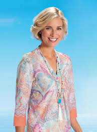 women u0027s tunics in luxury jersey cotton david nieper