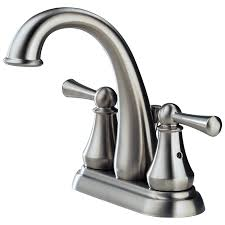 Delta Lewiston Pull Out Kitchen Faucet by 25901lf Ss Two Handle Centerset Lavatory Faucet