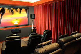 Absolute Zero Curtains Red by Home Theater Curtains Velvet Blackout Home Theater Curtain Panel