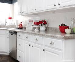 Above Kitchen Cabinet Christmas Decor by Christmas Kitchen Décor How To Nest For Less