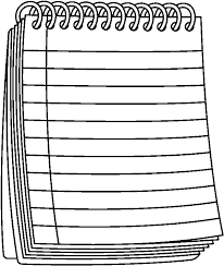 Paper clipart black and white Pencil and in color paper clipart