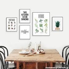 nordic minimalistischen ananas kunst leinwand malerei druck