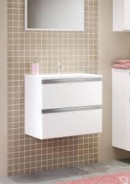 waschbeckenunterschrank mit waschbecken arezzo weiß sb