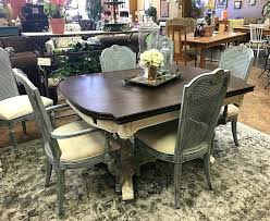 Shabby Chic Dining Set Table Sets Room Tables Cottage Style Kitchen And Chairs Distressed White Round Ideas Hammered Wood Plans Furniture Country Black