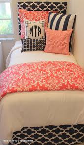 Teens Room Teen Bedroom Ideas Kids For Playroom D2d Designs Coral And Navy Dorm Apartment Bedding