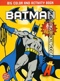 Batman Giant Color And Activity Book 2 From Meredith