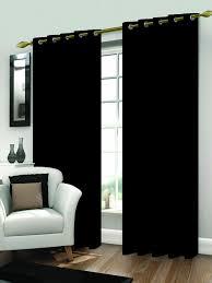 gardinen und vorhänge in schwarz günstig kaufen ebay
