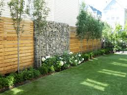 100 Gabion House Privacy Fence Landscaping Pictures And Wood Slat Privacy Fence With