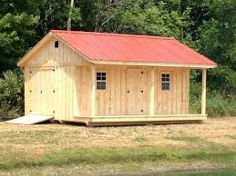 10 x 18 shed with 4 porch metal roof windows and extra door