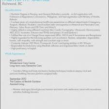 Sample Resume For Caregiver Position Elderly Fresh 25 Professional Samples Vinodomia